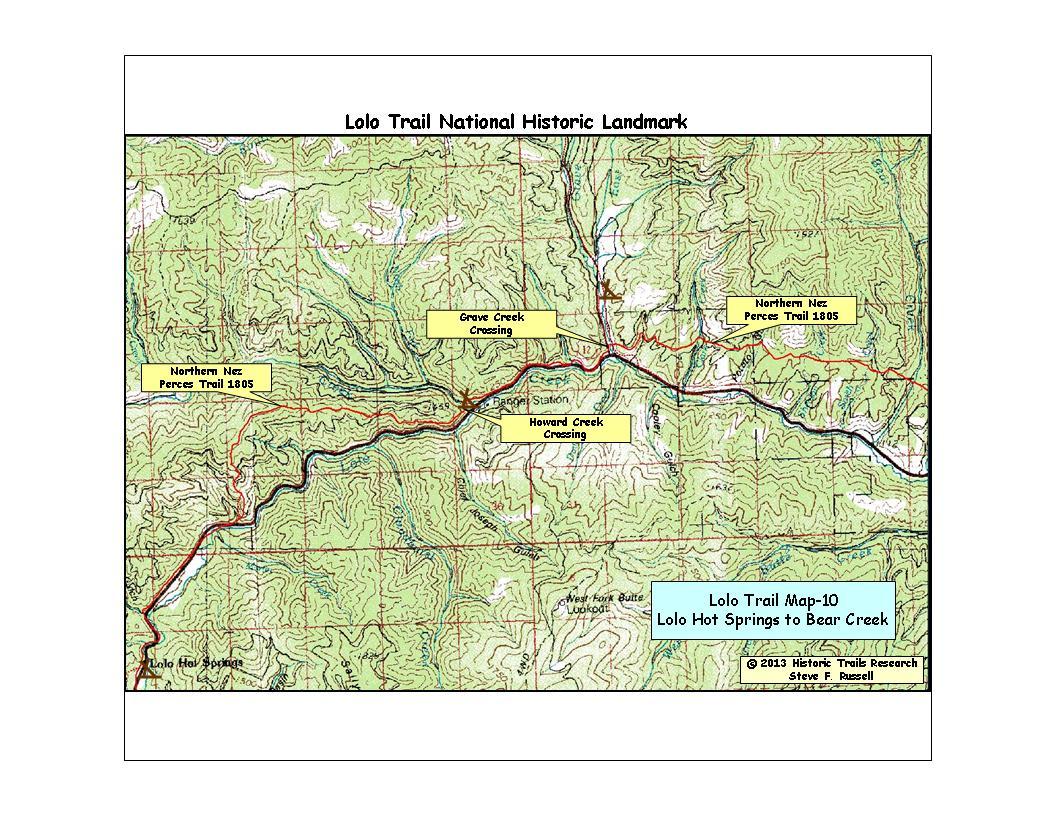 Lolo Trail National Historic Landmark